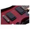 Schecter Demon-6 Elektro Gitar (Crimson Red Burst)<br>Fotoğraf: 5/5