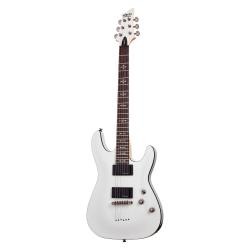 Schecter Demon-6 Elektro Gitar (Vintage White)