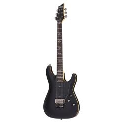 Schecter Demon-6 FR SBK Elektro Gitar (Aged Black Satin)