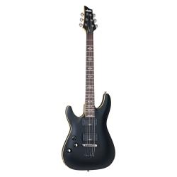 Schecter Demon-6 LH Solak Elektro Gitar (Mat Siyah)