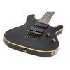 Schecter Demon-7 7 Telli Elektro Gitar (Aged Black Satin)<br>Fotoğraf: 3/4