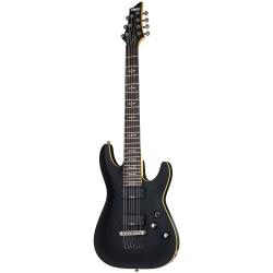 Schecter Demon-7 Elektro Gitar (Aged Black Satin)