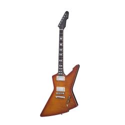 Schecter E-1 Standard Elektro Gitar (Honey Sunburst)