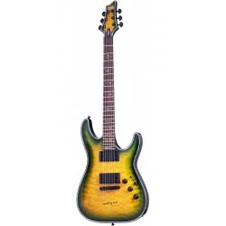 Schecter Hellraiser C-1 Pasif Elektro Gitar (Dragon Burst)