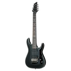 Schecter Hellraiser C-7 FR 7 Elektro Gitar (Parlak Siyah)