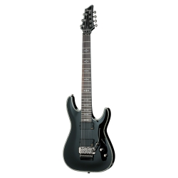 Schecter Hellraiser C-7 FR 7 Telli Elektro Gitar (Parlak Siyah)