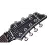 Schecter Hellraiser C-7 FR 7 Telli Elektro Gitar (Parlak Siyah)<br>Fotoğraf: 5/5