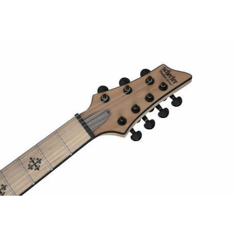 Schecter Jeff Loomis JL-7 Elektro Gitar (Gloss Black)<br>Fotoğraf: 7/7