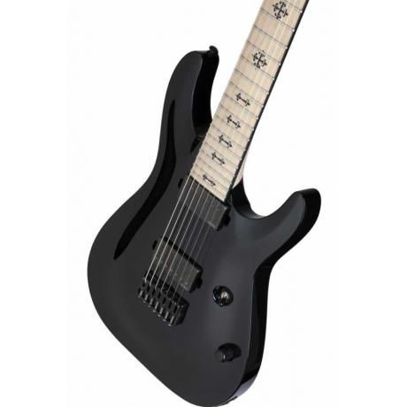Schecter Jeff Loomis JL-7 Elektro Gitar (Gloss Black)<br>Fotoğraf: 6/7