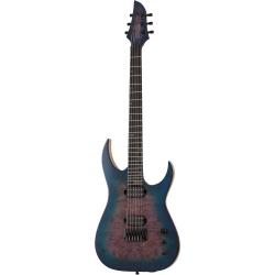 Schecter Keith Merrow KM-6 MK-III Artist Elektro Gitar (Blue Crimson)
