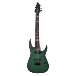 Schecter Keith Merrow KM-7 MK-III Standard 7 Telli Elektro Gitar (Toxic Smoke...