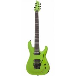 Schecter KM-7 FR-S 7 Telli Elektro Gitar (Lambo Green)