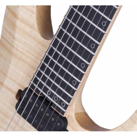 Schecter KM-7 MK-II 7 Telli Elektro Gitar (Natural Pearl)<br>Fotoğraf: 3/9