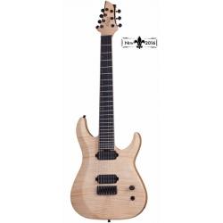 Schecter KM-7 MK-II 7 Telli Elektro Gitar (Natural Pearl)