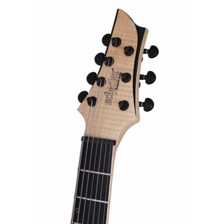 Schecter KM-7 MK-II 7 Telli Elektro Gitar (Natural Pearl)<br>Fotoğraf: 4/9