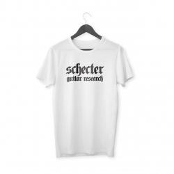 Schecter Logo T-Shirt (Beyaz)
