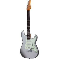 Schecter Nick Johnston Traditional Elektro Gitar (Atomic Silver)