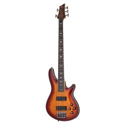 Schecter Omen Extreme-5 5 Telli Bas Gitar (Vintage Sunburst)