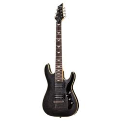 Schecter Omen Extreme 7 Telli Elektro Gitar (See-Thru Black)