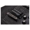 Schecter Omen Extreme 7 Telli Elektro Gitar (See-Thru Black)<br>Fotoğraf: 5/6