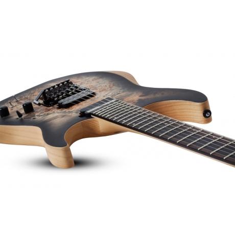 Schecter Reaper-6 FR-S Elektro Gitar (Satin Charcoal Burst)<br>Fotoğraf: 4/7