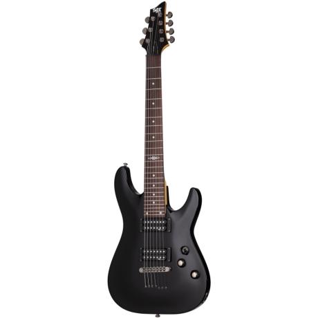 Schecter SGR C-7 Elektro Gitar (Gloss Black)<br>Fotoğraf: 1/3