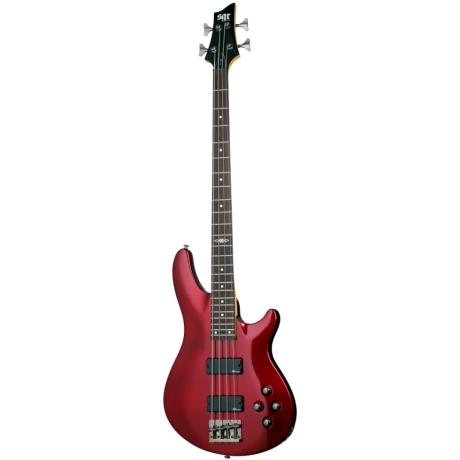 Schecter SGR C4 Kırmızı Bass Gitar<br>Fotoğraf: 1/1