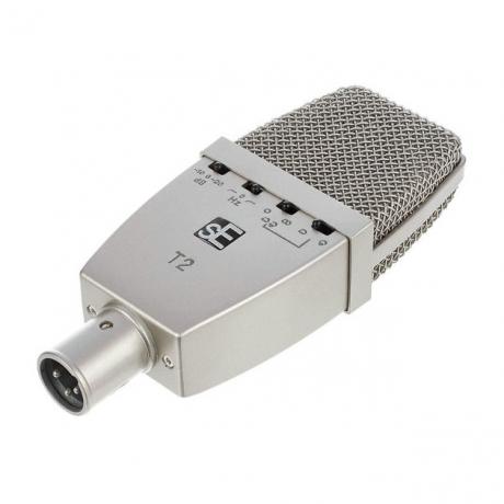 sE Electronics T2 Titanyum Kapsüllü Geniş Diyaframlı Condenser Mikrofon<br>Fotoğraf: 3/4