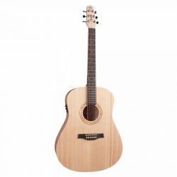 Seagull Excursion Spruce ISYST Elektro Akustik Gitar (Natural Solid)