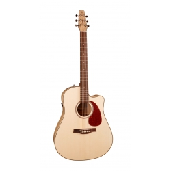 Seagull Performer CW Flame Maple Elektro Akustik Gitar (Natural)