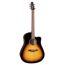 Seagull S6 CW Ladin GT QIT Elektro Akustik Gitar (Sunburst)