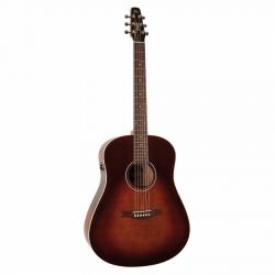 Seagull S6 Original Burnt Umber QIT Elektro Akustik Gitar