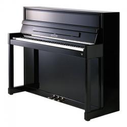 Seiler Model 116 Impuls Akustik Duvar Piyanosu (Siyah)