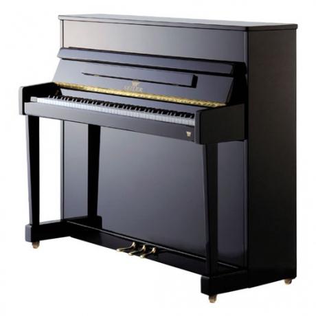 Seiler Model 116 Ritmo Akustik Duvar Piyanosu (Siyah)<br>Fotoğraf: 1/1