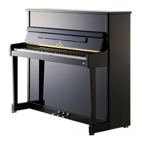Seiler Model 122 Primus Akustik Duvar Piyanosu (Siyah)<br>Fotoğraf: 1/1