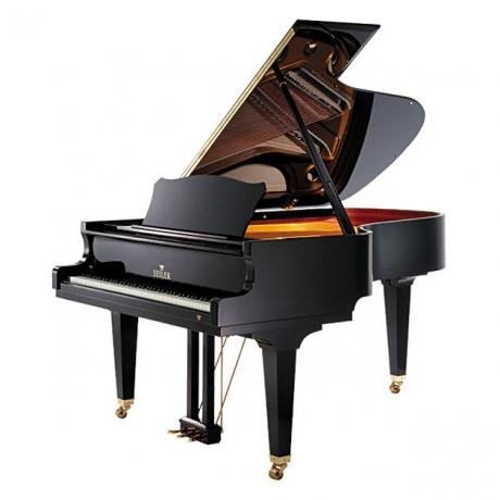 Seiler Model 186 Maestro Akustik Kuyruklu Piyano (Parlak Siyah)<br>Fotoğraf: 1/1