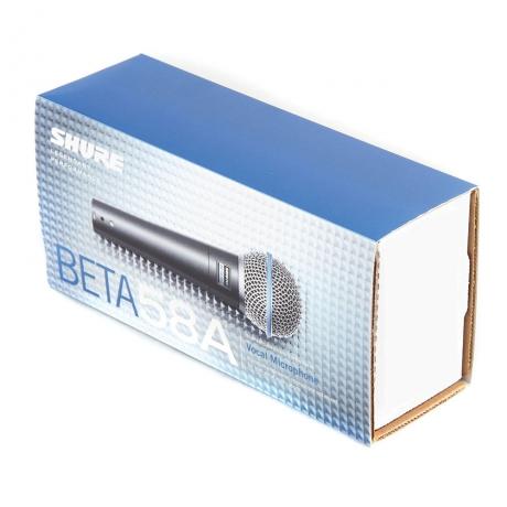 Shure BETA 58A Supercardioid Dynamic Mikrofon<br>Fotoğraf: 2/2