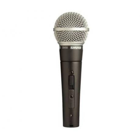 Shure SM58SE Vokal Mikrofonu<br>Fotoğraf: 1/1