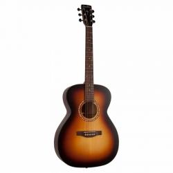 Simon & Patrick Songsmith Concert Hall A3T Elektro Akustik Gitar (Burst)