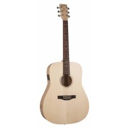Simon Patrick Trek Nat Solid Spruce SG Elektro Akustik Gitar