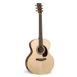 Simon Patrick Woodland Pro Mini Jumbo Spruce HG A3T Akustik Gitar
