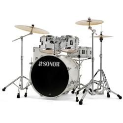 Sonor AQ1 Stage Akustik Davul Seti (Piano White)