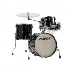 Sonor AQ2 Bop Set Akustilk Davul (Transparent Satin Black)