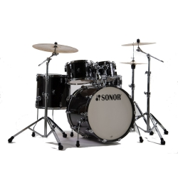 Sonor AQ2 Stage Akustik Davul Set (Trans Black)