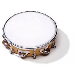 Sonor CG TT 10P Tambourine 10'', plastic head, tunable