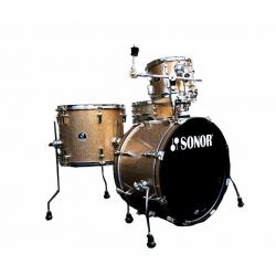 Sonor SSE 14 Players 4pc Gold Galaxy Sparkle Davul Seti