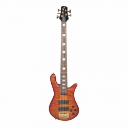 Spector EURO5LX Ultra Amberburst Gloss Bass Gitar
