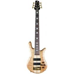 Spector EURO6LX Natural Satin Gloss Bass Gitar