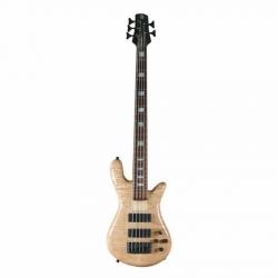 Spector REBOP5DLX Natural Stain Gloss Bass Gitar