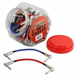 Strukture Pedal Ara Kablosu (Kırmızı & Mavi)